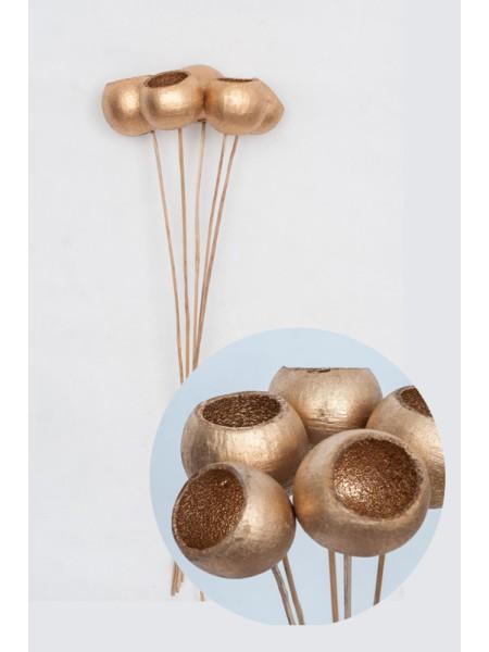 Баиль на вставке 6х50 см цвет Золото ЦЕНА ЗА 1 шт !!!!