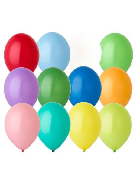 В105 пастель ассорти Экстра шар воздушный