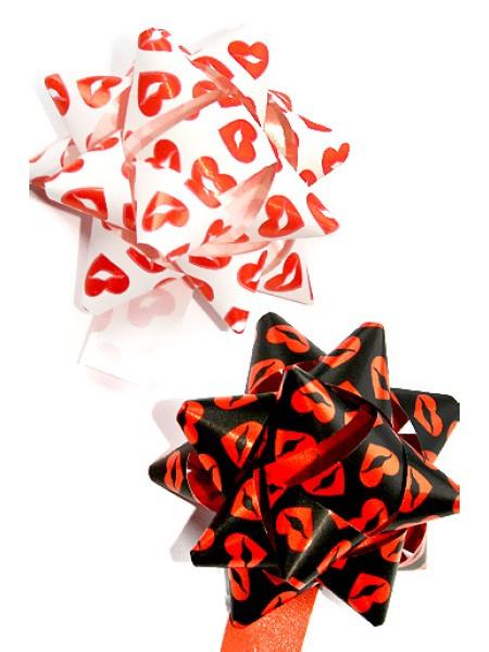 Бант звездочка 231/430 старлайт - kisses d=8 см