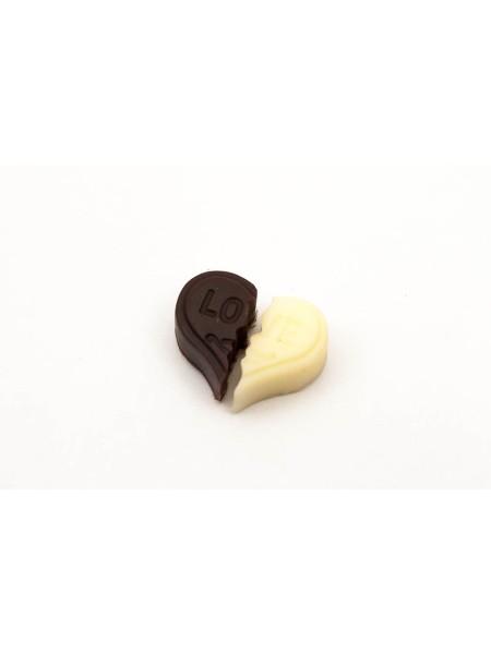 Аксессуар для декора 201 сердце шоколадное