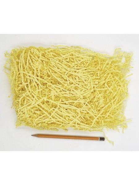Наполнитель гофрированный цвет светло-желтый HS-26-4