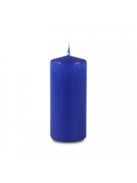 Пеньковая 40 х 90 голубая свеча