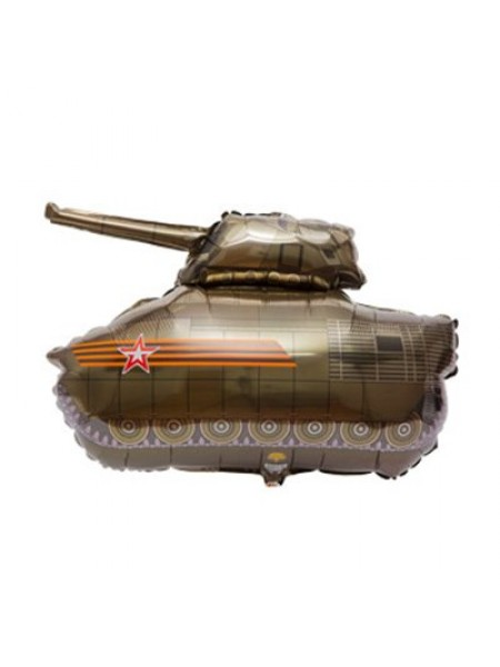 "Фольга шар Танк 31""/77,5 см 1шт"