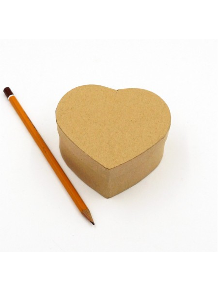Коробка заготовка Сердце