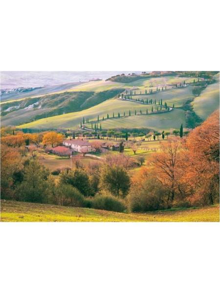1500 элементов пазл Тоскана Италия