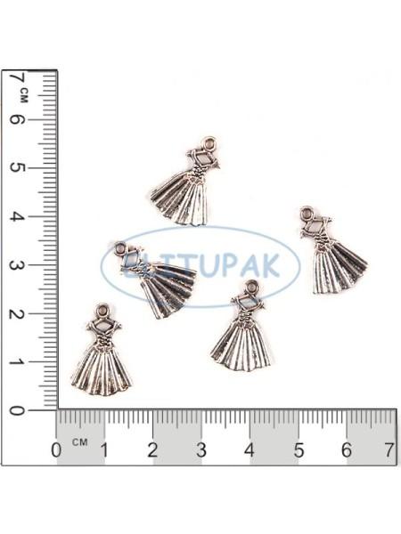 Платье металлическая фурнитура 5 шт