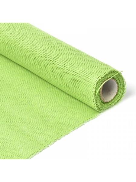 Сетка бумажная 50 см х 4,5 м цвет зеленое яблоко