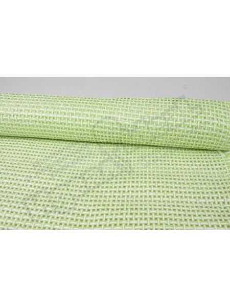Сетка бумажная 50 см х 4,5 м цвет светло-зеленый белый
