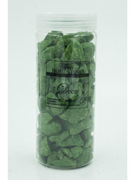 Камни декоративные крупные цвет зеленый
