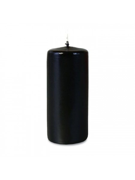 Пеньковая 50х115 черная свеча