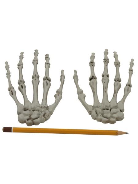 Кисти рук набор 2 шт 15 см пластик Хэллоуин HS-4-5
