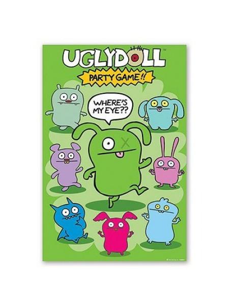 Игра с наклейками Ugly Doll
