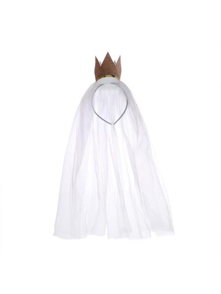Набор карнавальный Корона с фатой
