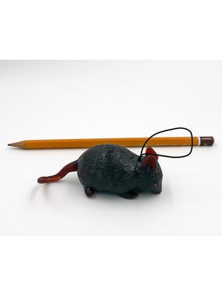 Мышь 6 см резина  цена за 1шт