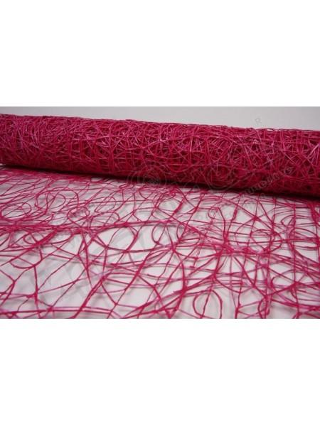 Сетка Сизаль 53 см х 5 м цвет Бордовый