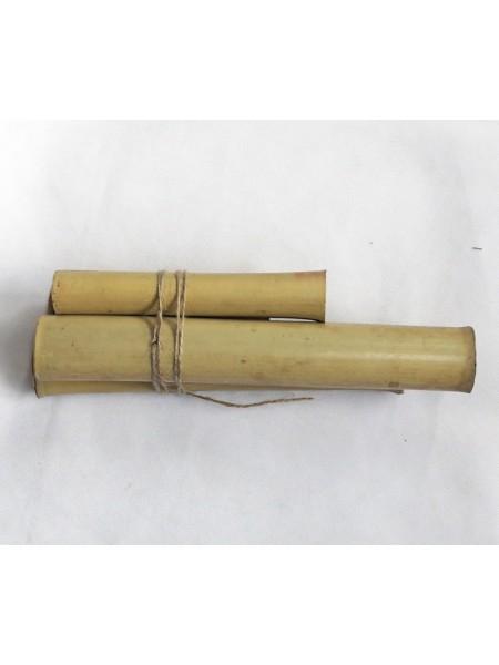 Бамбук ствол длина 10-30 см набор 4 шт