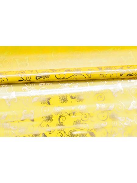 Пленка цветная 8,5 м Батерфляй цвет желтый-золото