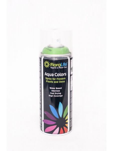 Спрей краска 400мл Floralife Aqua Color Spray  цвет светло-зеленый
