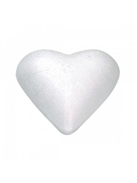 Сердце плоское 24 х 25 х 4 см полистирол 27-67111