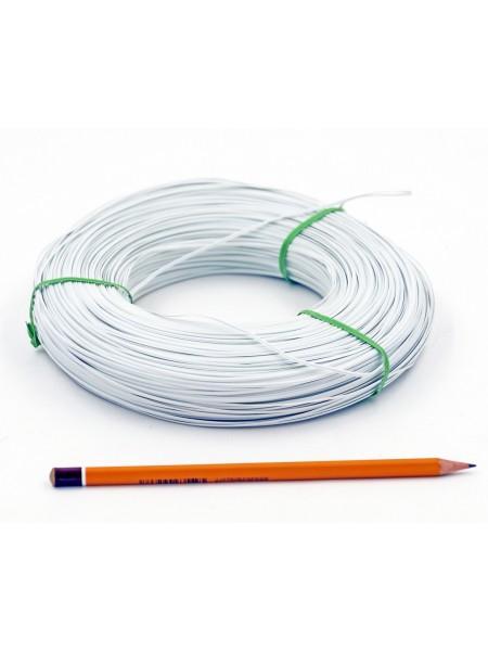 Проволока 0,3 мм 0,5 кг полипропиленовая обмотка цвет белый HS-12-3
