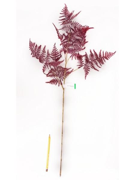 Аспарагус ветка искусственная 85см пурпурный