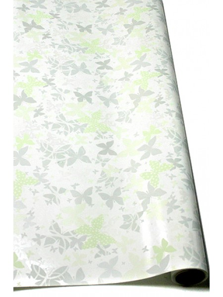 Бумага капелла 20/03-96 Перламутровые бабочки 70 см х 10 м