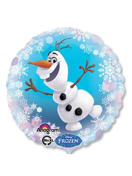"""Фольга шар Frozen Олаф S60 18""""/48 см Anagram"""