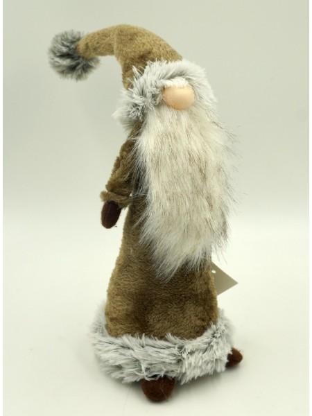 Дед Мороз коричневый 45см