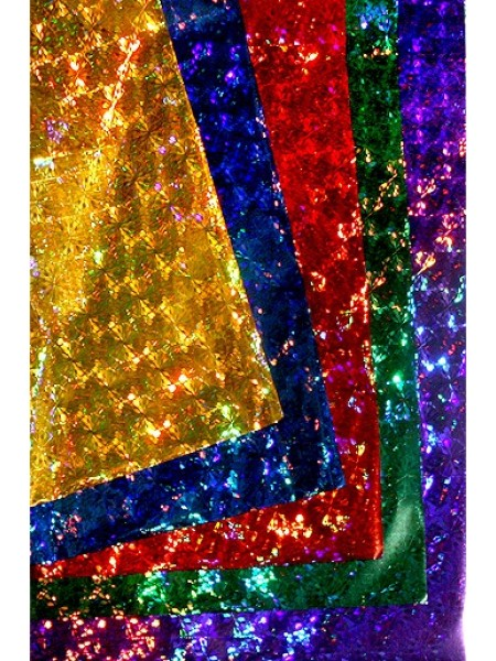 Пленка голография 100/073 кристаллы 100 х 70 см