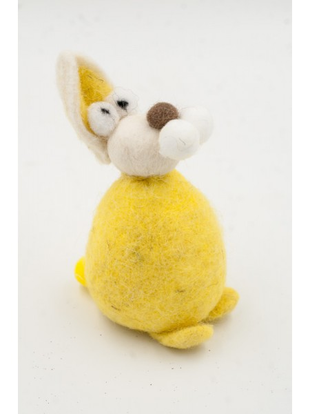 Заяц  войлок 16 см