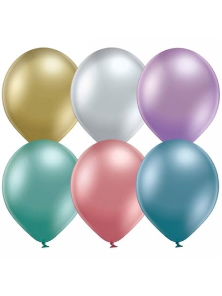 В105 хром Glossy ассорти шар воздушный