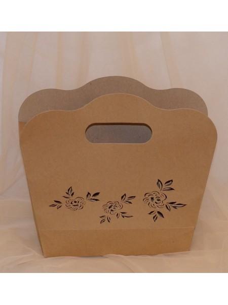 Коробка - сумка сборная 21 х 29 см