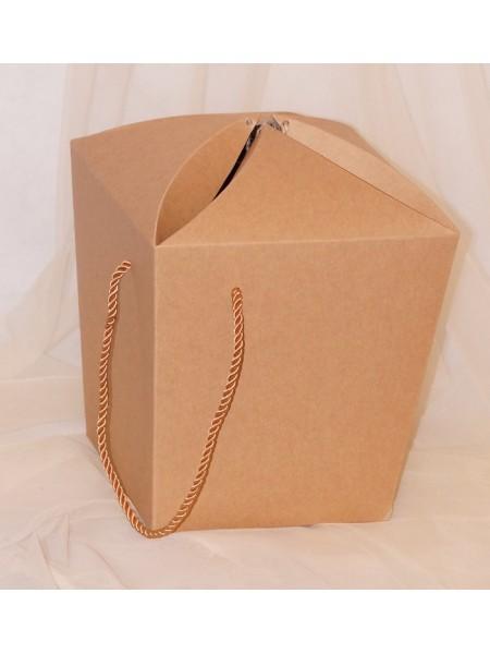 Коробка - сумка сборная 20 х 20 х 20 см