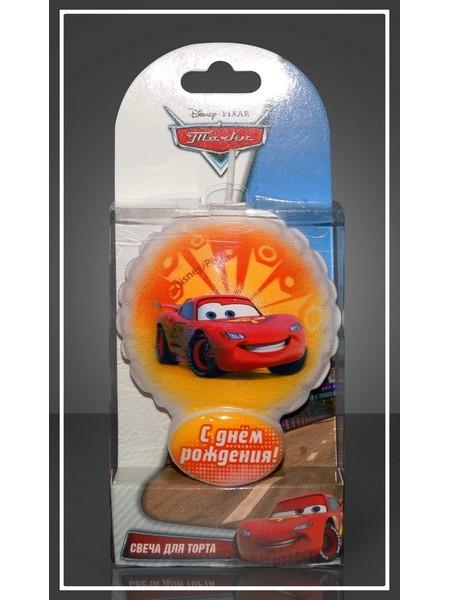 Тортовая свеча воздушный шарик Тачки 2