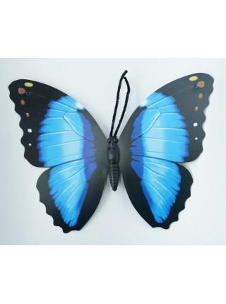 Бабочка на магните 30 х 35 см бумага пластик