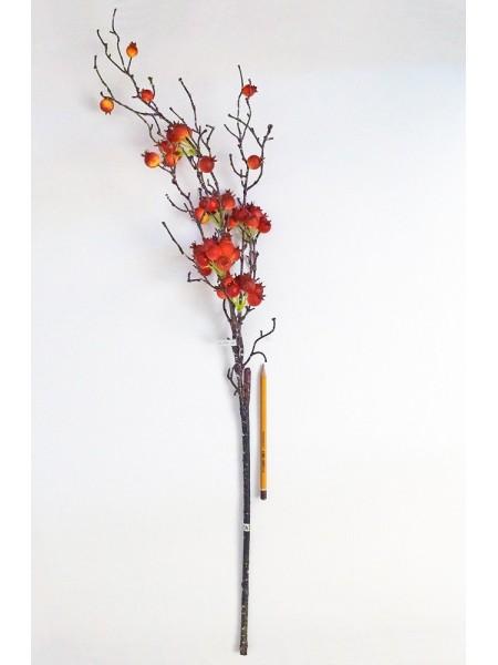 Боярышник ягода на ветке 85 см цвет микс HS- 33-10