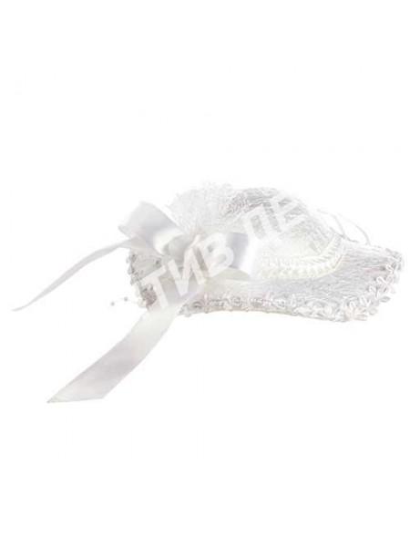 Шляпа подвеска декор 25 см