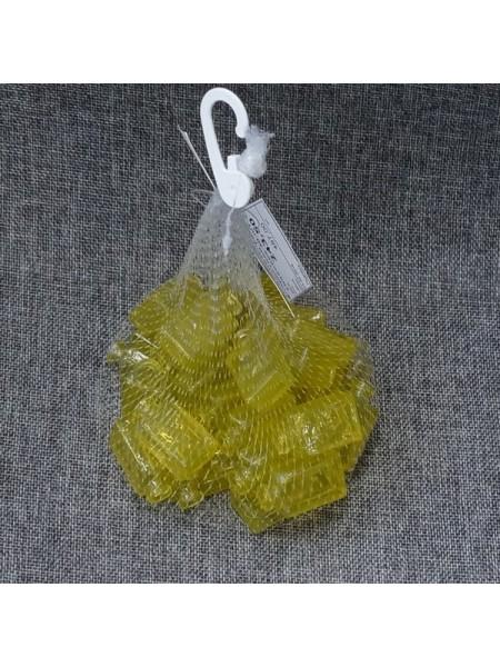 Наполнитель для флористики Рамка упаковка 30 шт стекло цвет желтый