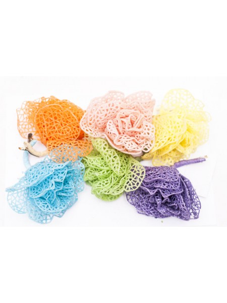 Цветок пластик на прищепке 303