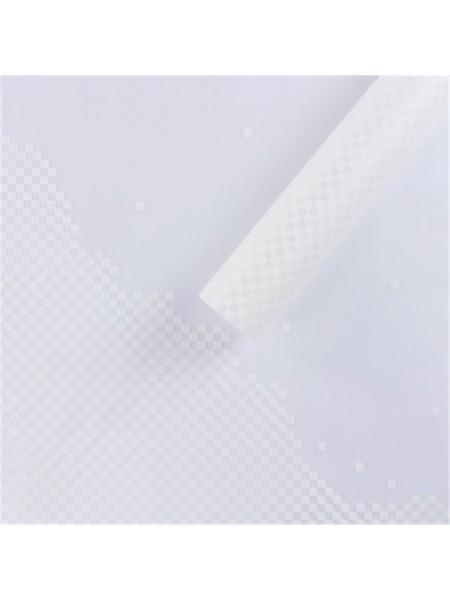 Пленка матовая Пиксели 60 х 60 см набор 20 листов цвет белый