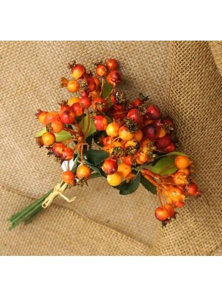 Боярышник оранжевый ягодка букетик