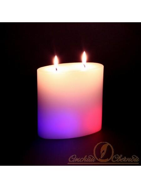 Овал мигающая свеча
