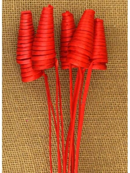 Cane cone красные 5шт