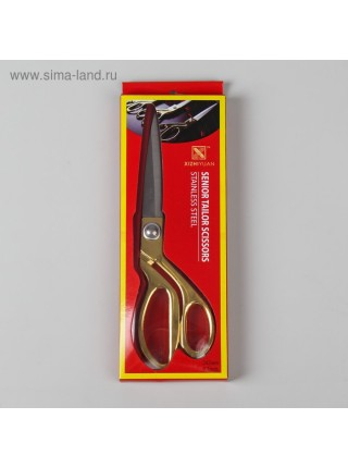 Ножницы закройные-самозатачивающиеся размер №9,5 L-26 см кольца золотые