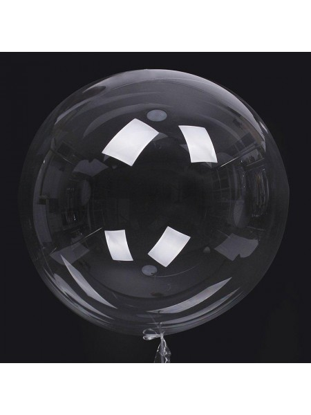 "Шар сфера Bubble 24""/60 см прозрачный HS-40-2"