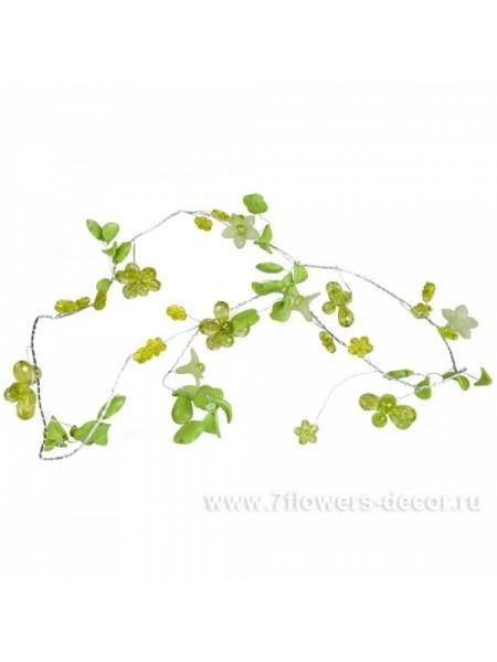 гирлянда Цветы 100см