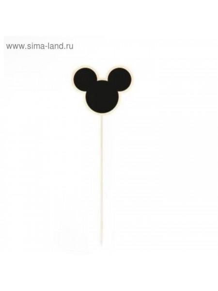 Ценник меловой на шпажке  Мышка