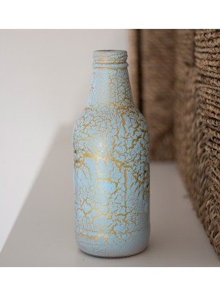 Краска спрей Siana Craquelure матовая набор 2 шт 520 мл цвет голубой-золотой Арт. NSNC003