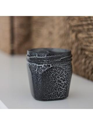 Краска спрей Siana Craquelure матовая набор 2 шт 520 мл цвет серебро-черный Арт. NSNC006