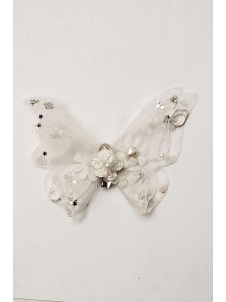 Бабочка на прищепке 15 см